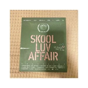BTS Skool Luv Affair album✨ new